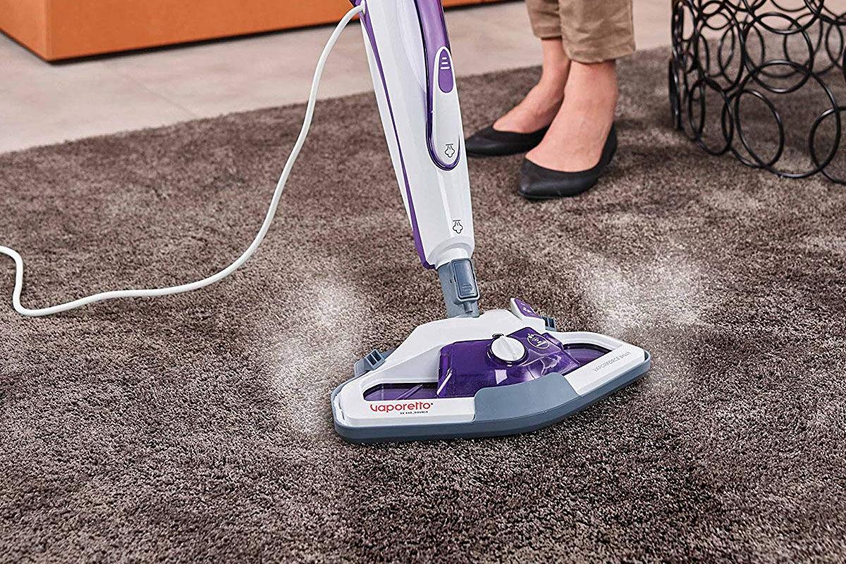 Pulire pavimenti con vaporetto pulire la moquette a secco vapore