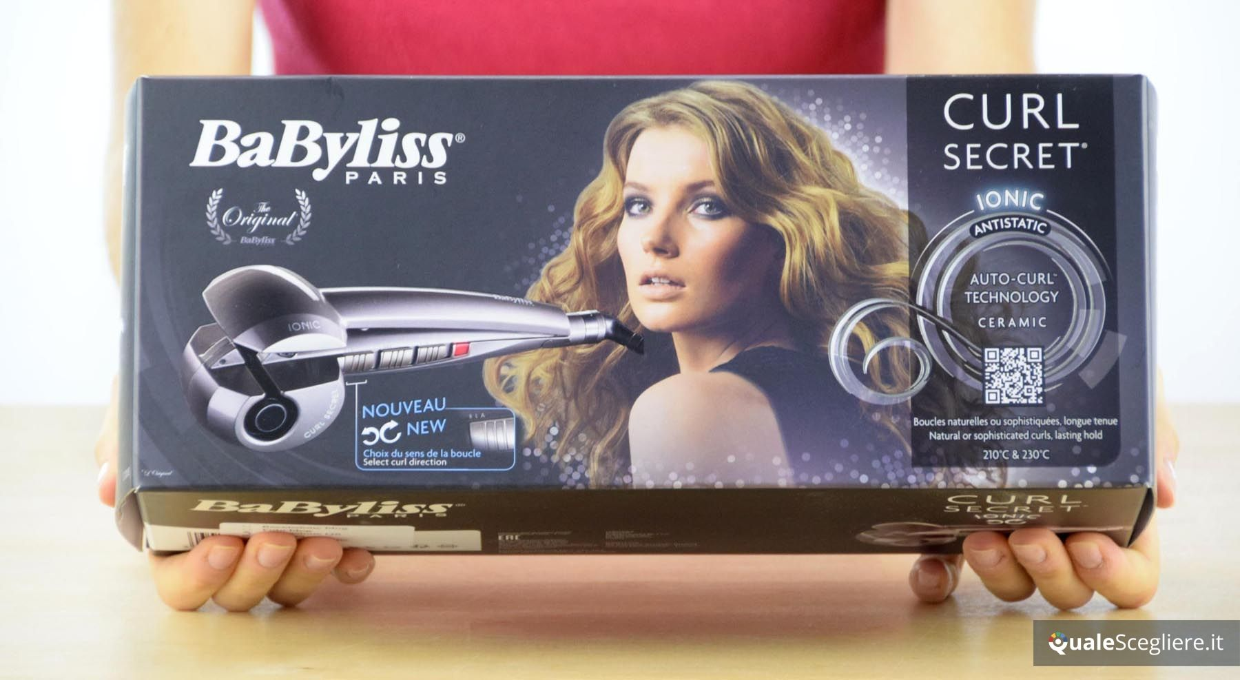 recensione babyliss curl secret ionic 1200e. Black Bedroom Furniture Sets. Home Design Ideas