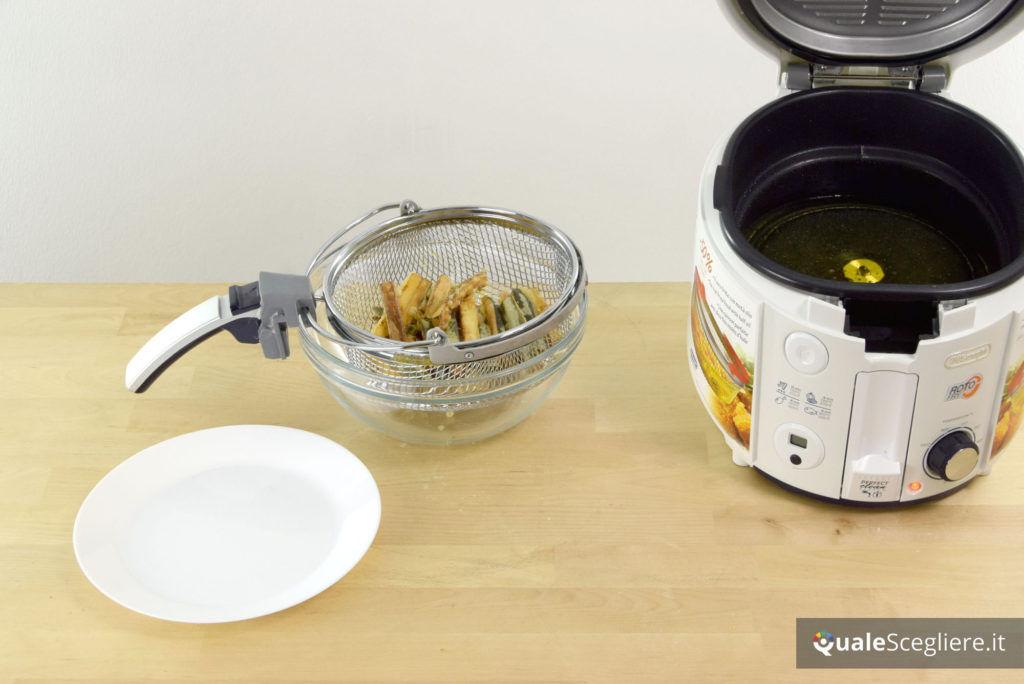 De'Longhi Rotofry F38436 zucchine ottenute