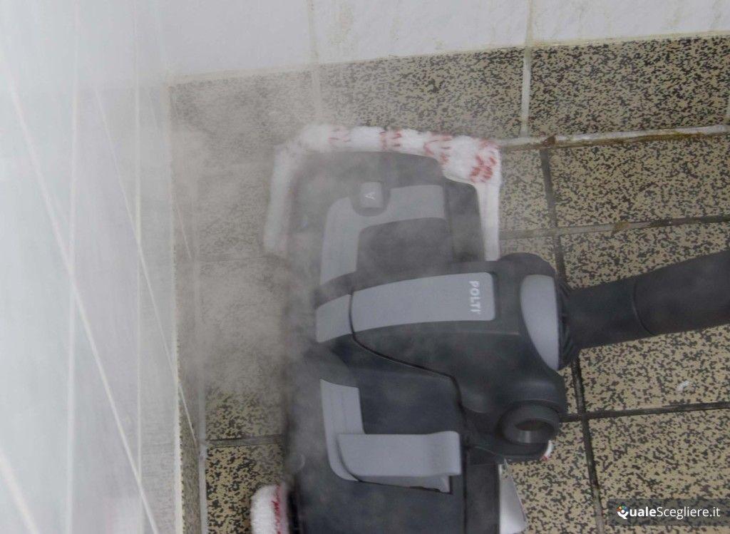 Polti Unico MCV85 Total Clean & Turbo igienizzazione pavimento