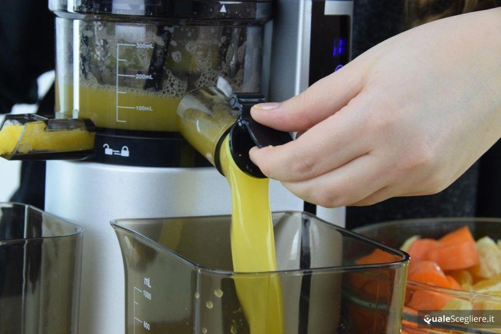 Imetec Succovivo Compact SJ 700 Prova succo d'arancia