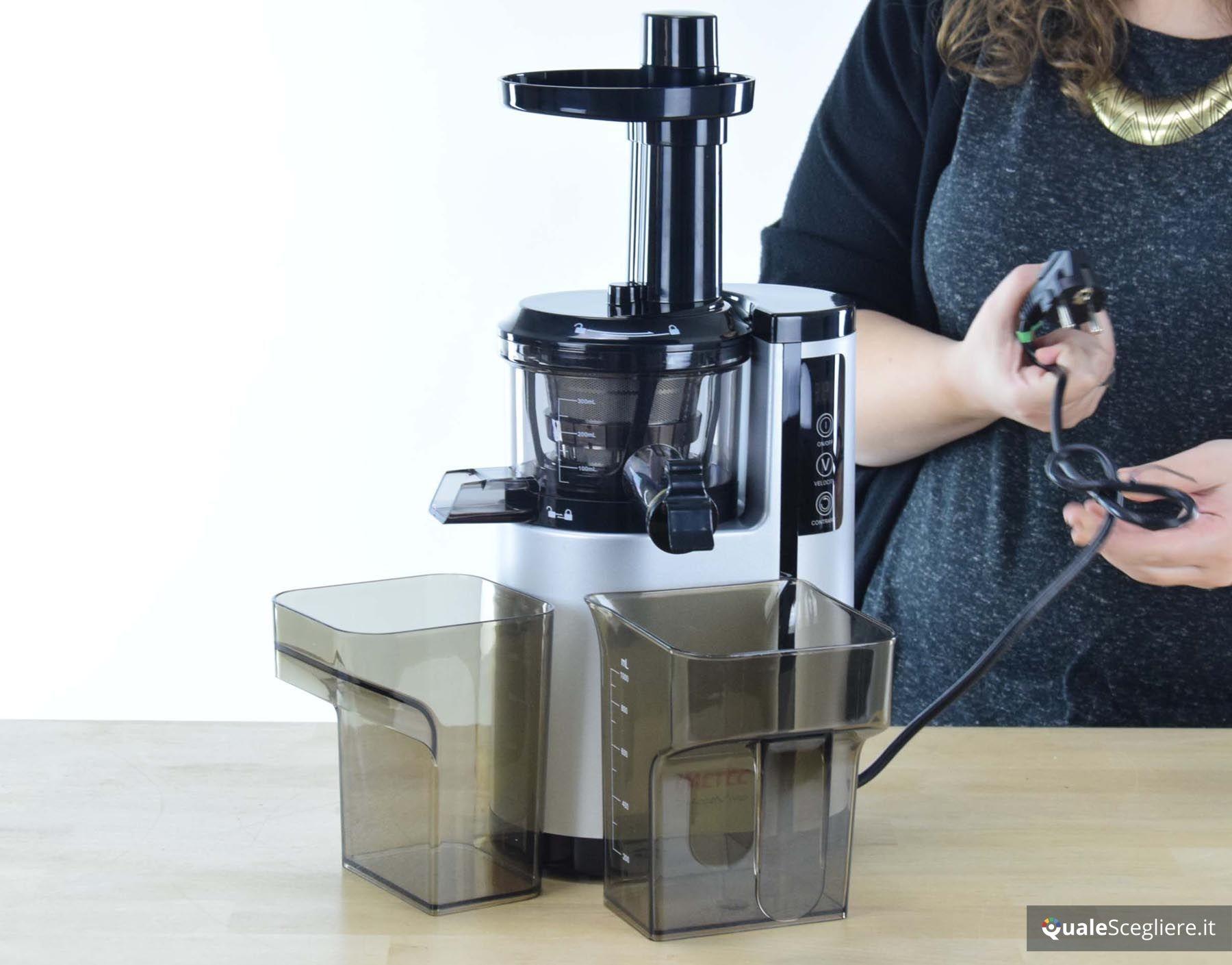 Recensione imetec succovivo compact sj 700 for Estrattore imetec