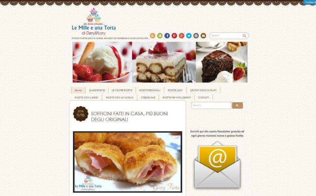 Ricette di dolci i 6 migliori siti italiani per torte e for Migliori siti di ricette di cucina