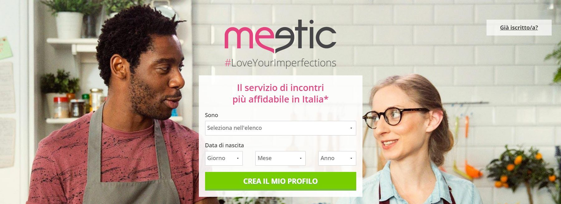 Dating registrazione gratuita