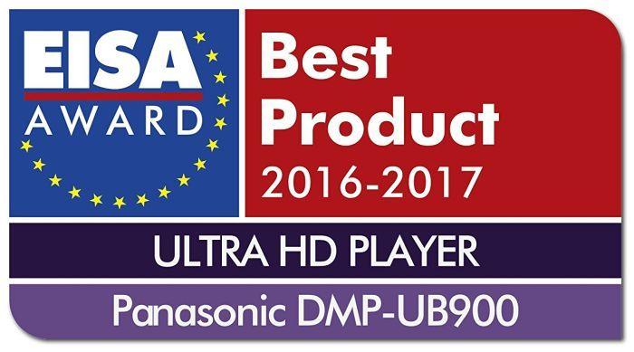 Panasonic DMP-UB900 EISA award
