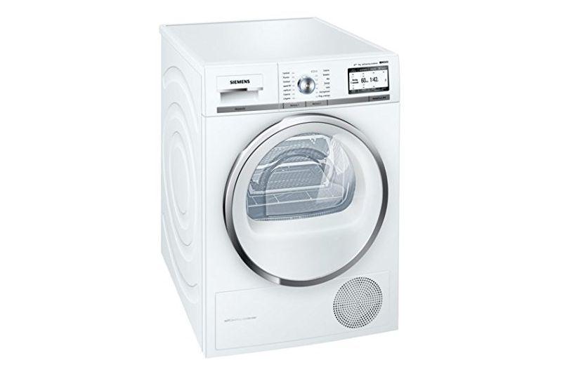 Asciugatrice siemens wt48y7w9ii colonna porta lavatrice for Siemens asciugatrice