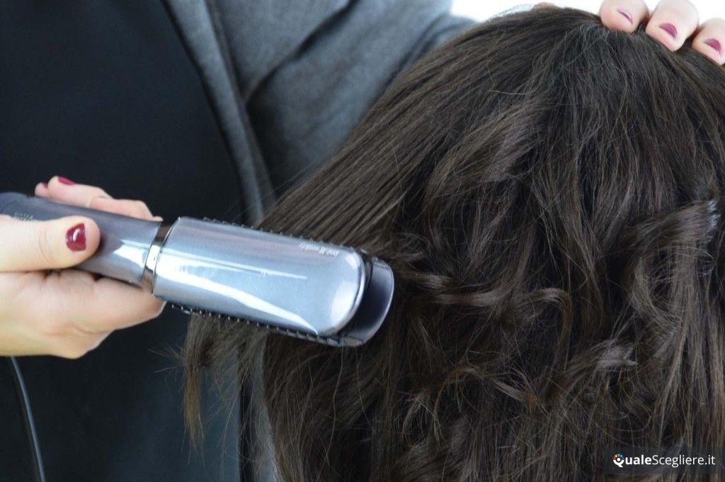 Babyliss ST389E iPro 235 XL Intense Protect Prova su capelli ricci