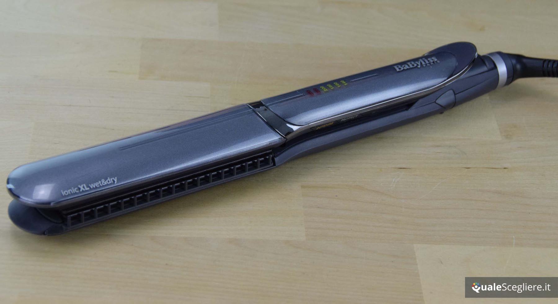 ST389E BaByliss iPro 235 XL Intense Protect Piastra per capelli