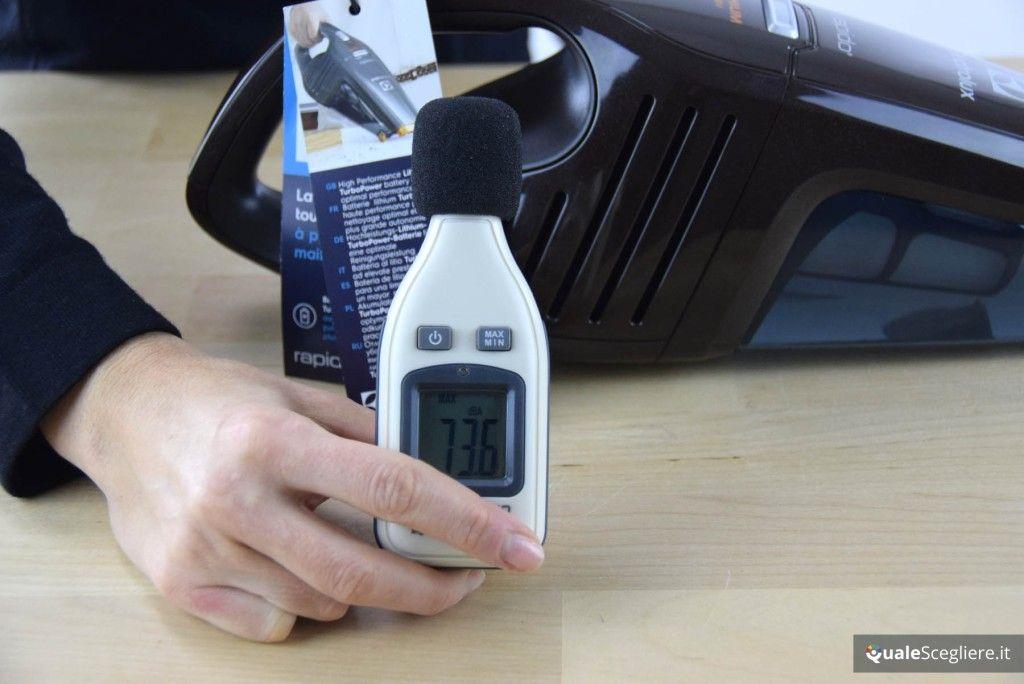 Electrolux ZB6108C Rapido misurazione rumorosità