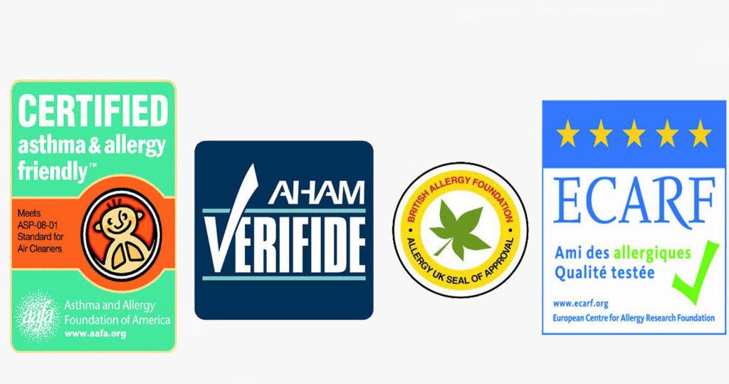 Fellowes Aeramax DX5 attestati e certificazioni
