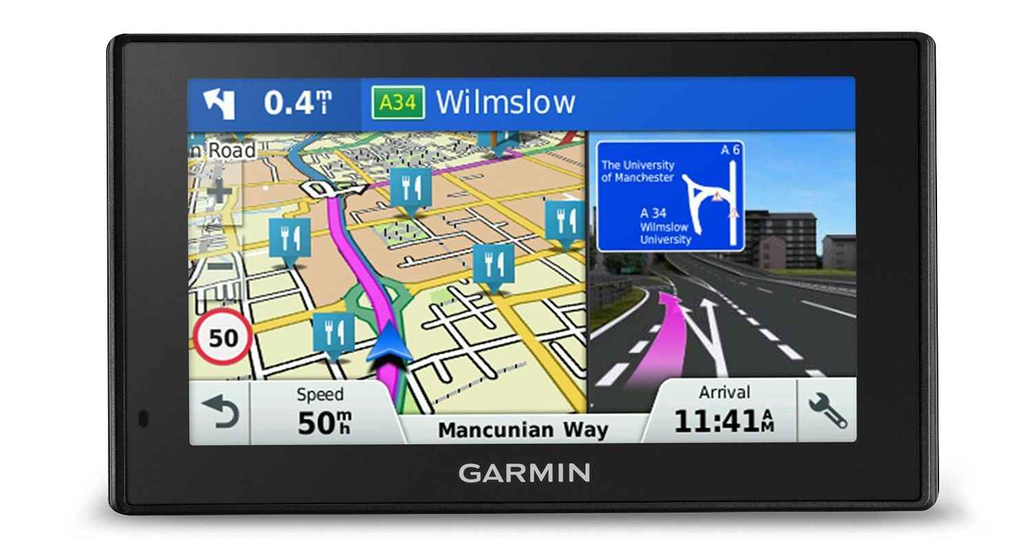 recensione garmin drivesmart 50lm. Black Bedroom Furniture Sets. Home Design Ideas