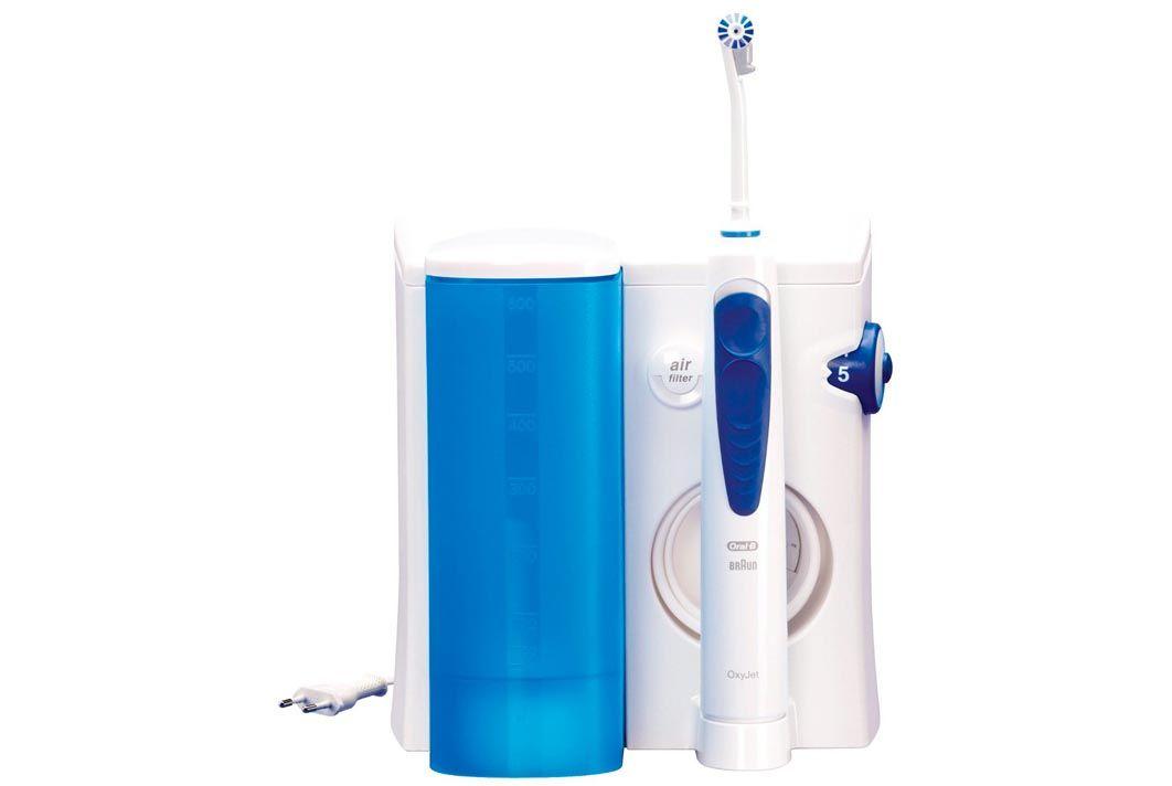 oral b oxyjet sistema pulente con idropulsore  ▷ Recensione Oral-B OxyJet