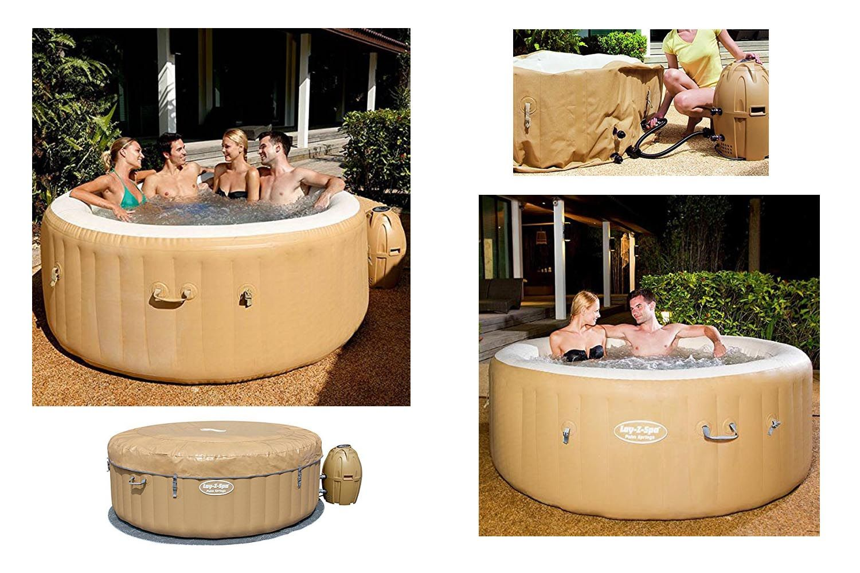 recensione bestway lay z spa palm springs 54129. Black Bedroom Furniture Sets. Home Design Ideas