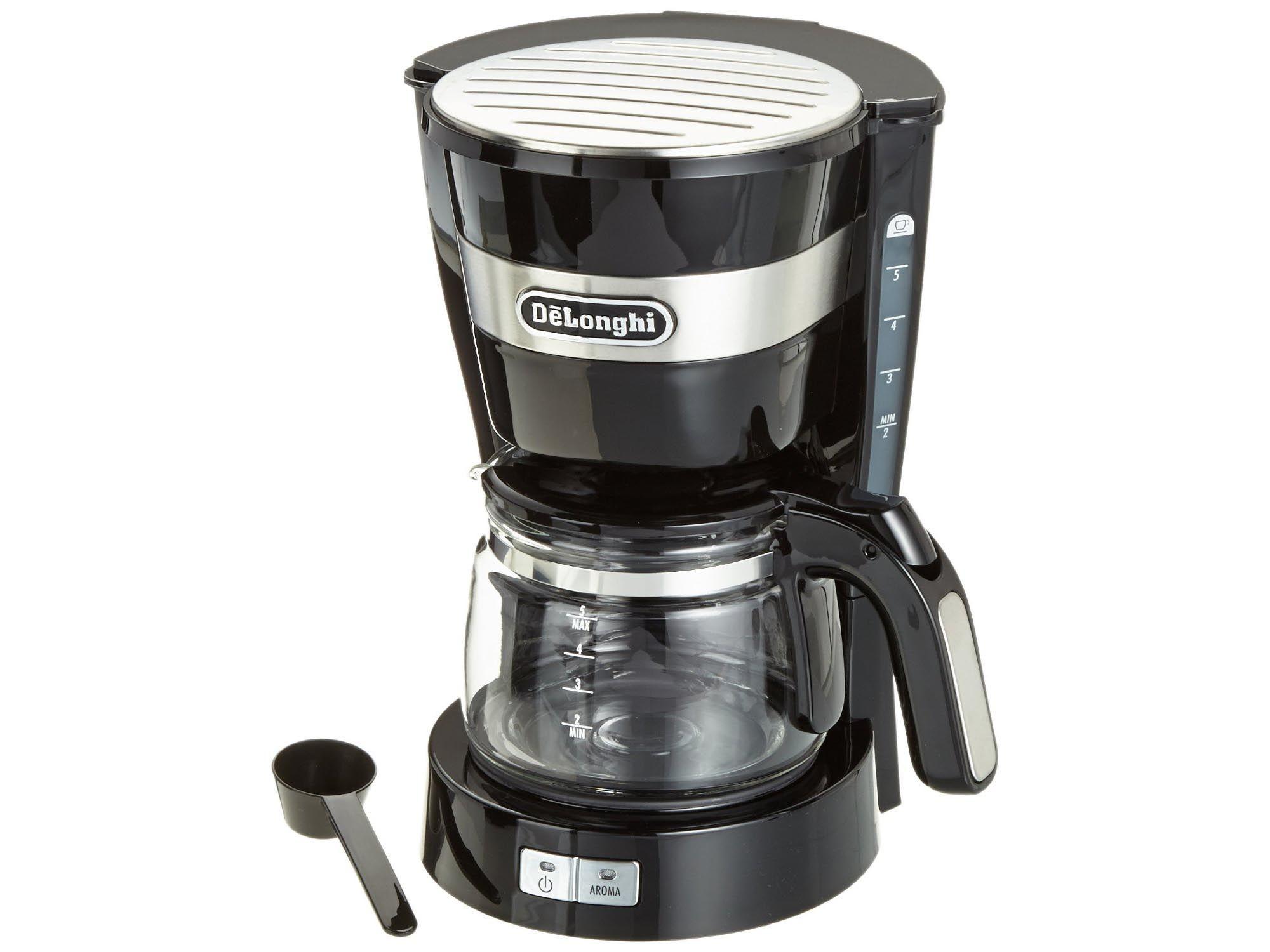 DELONGHI CARAFFA VETRO 5 TZ MACCHINA CAFFE A FILTRO AMERICANO ICM14011 ICM140