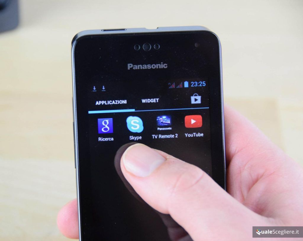 Panasonic KX-PRX150 - Menu accesso applicazioni