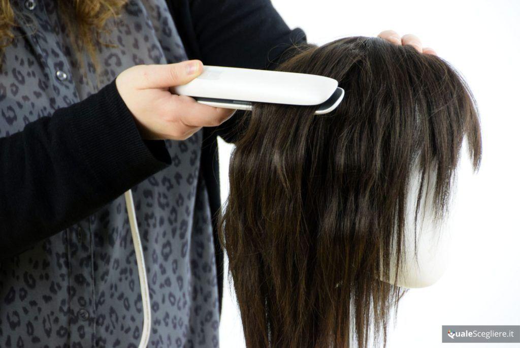 Philips HP8383-00 StraightCare Prestige Nutri Wonder Prova su capelli mossi