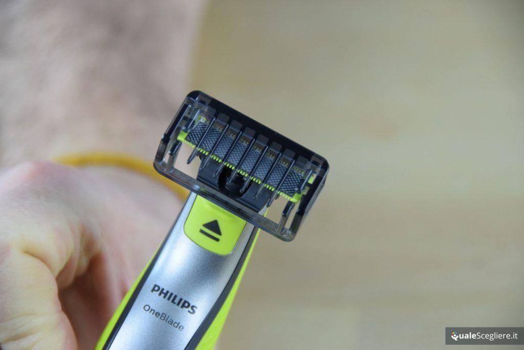 Philips OneBlade QP2530/30 regolazione con pettine