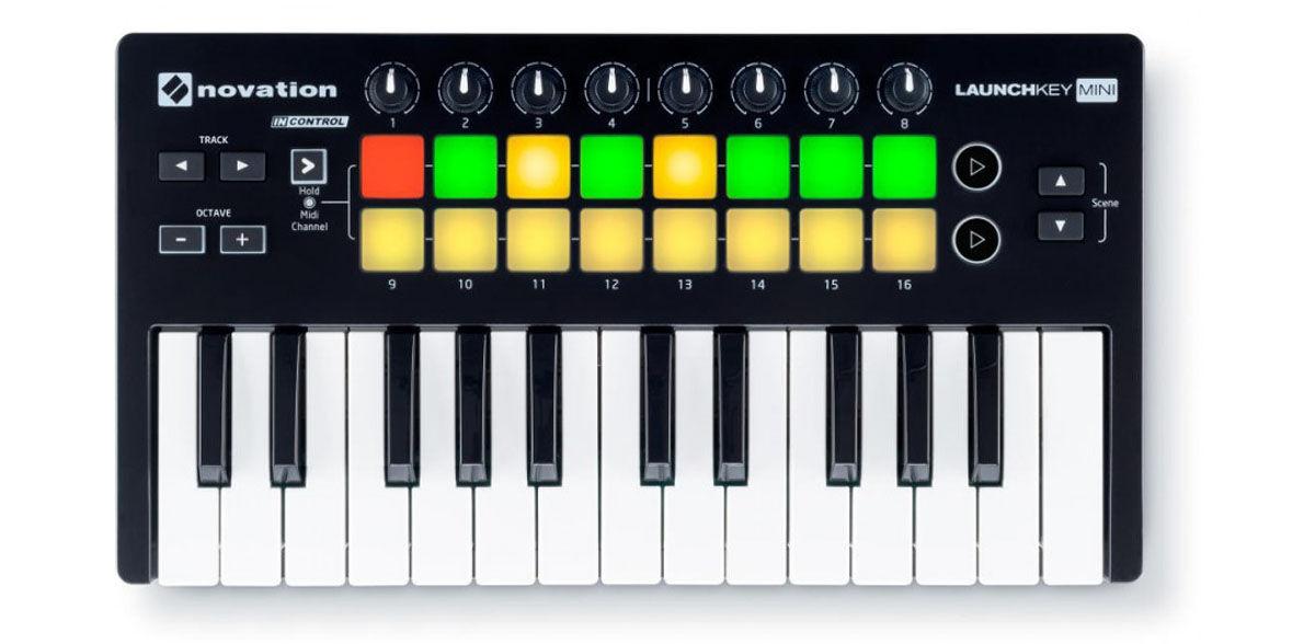Collegare la tastiera MIDI per iPhone
