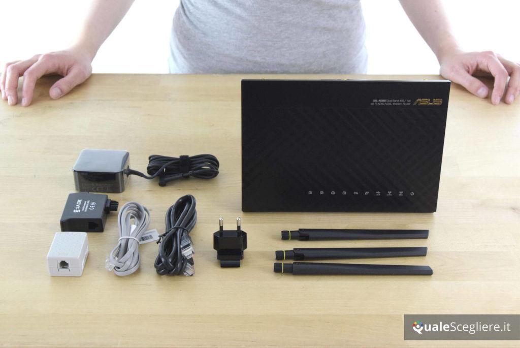 Asus DSL-AC68U accessori