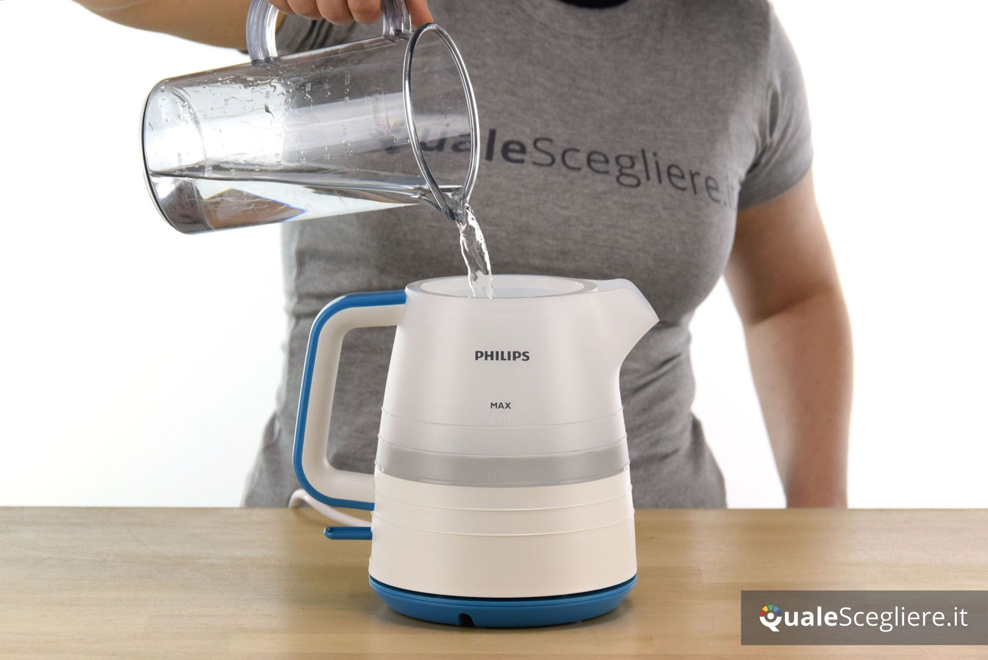 Philips HD9344-10 Daily Collection riempimento caraffa