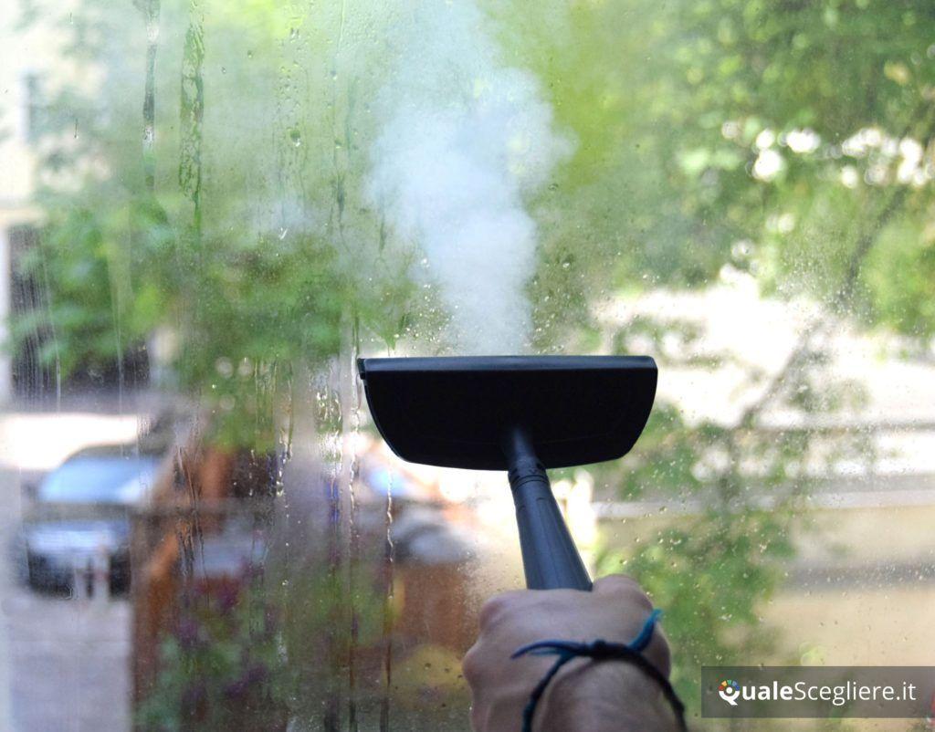 Polti Vaporetto SV 440 Double pulizia vetri