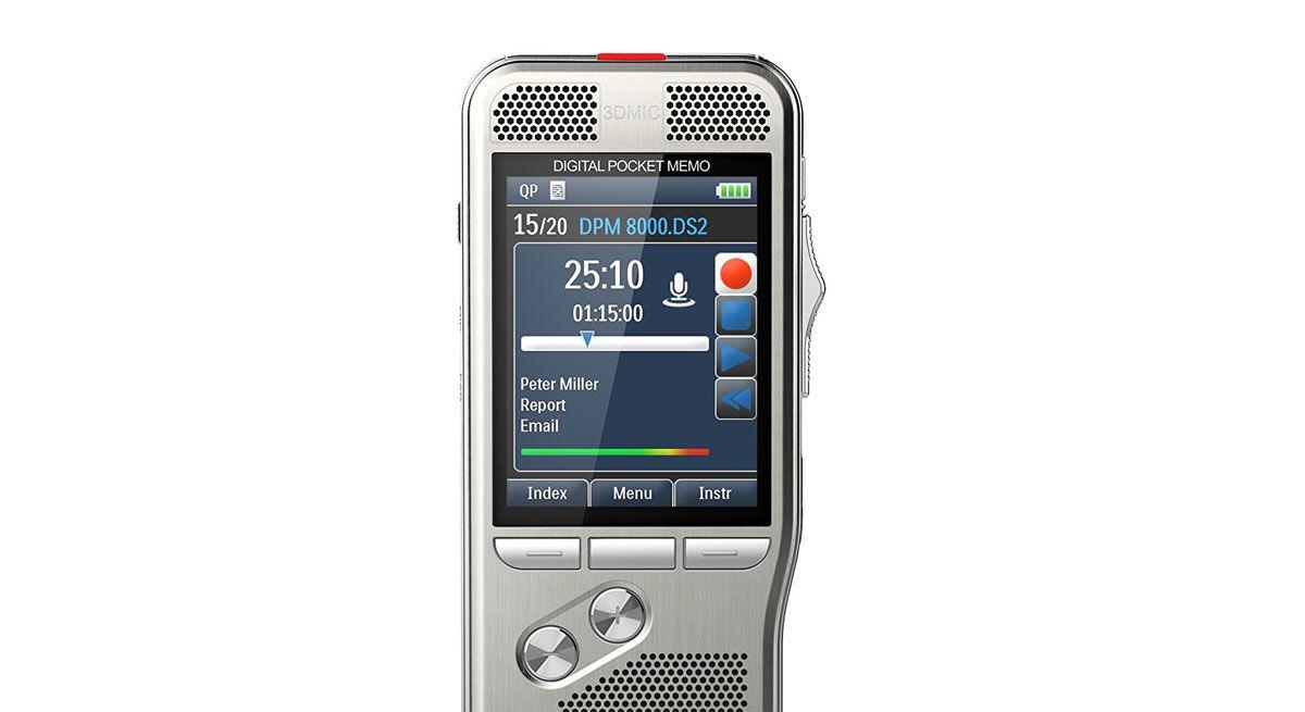 8 GB registra anche da cellulare Bluetooth Sistema digitale di registrazione vocale