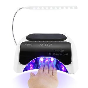 Anself 48W LED + CCFL