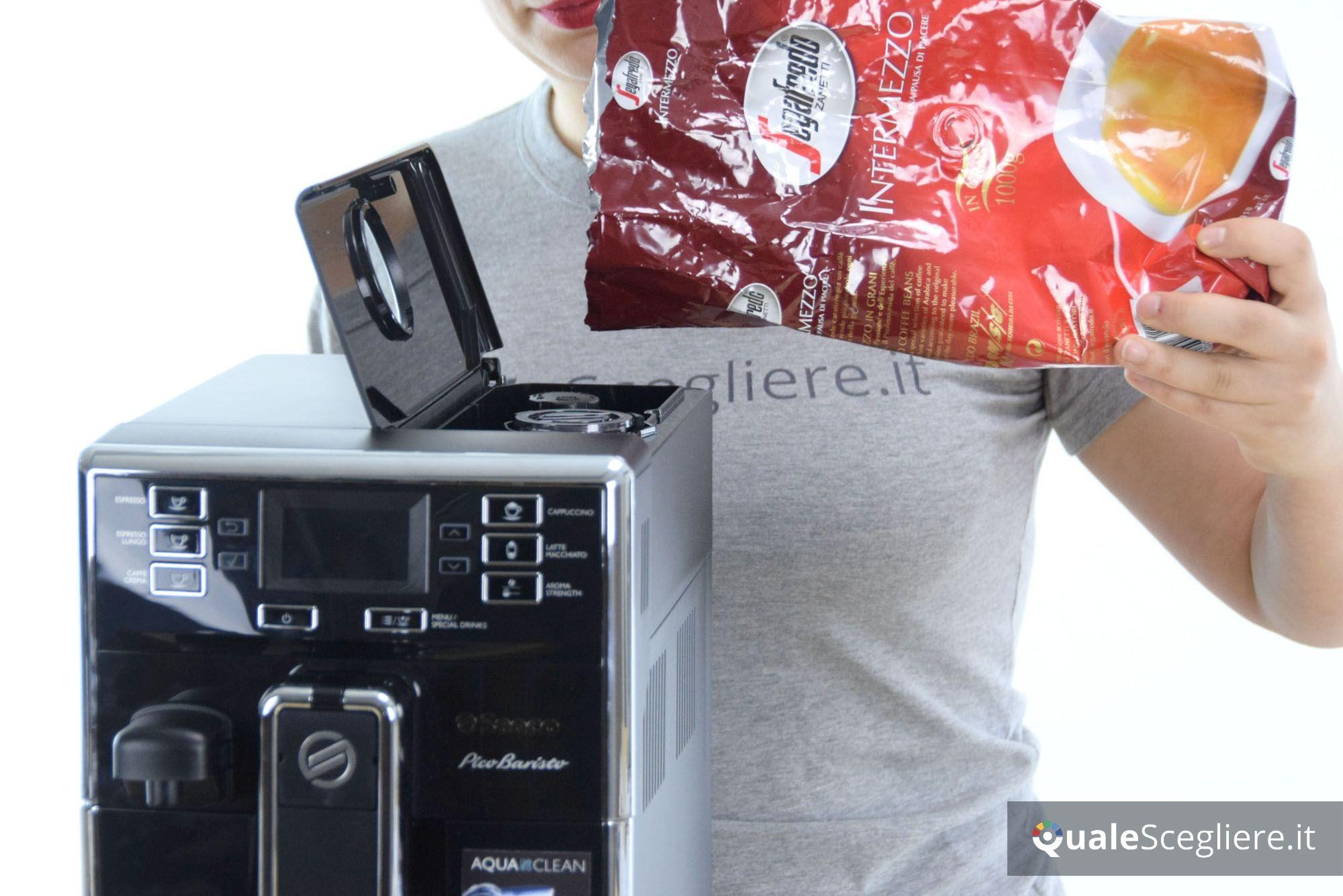 Saeco Picobaristo HD8925/01 preparazione caffè