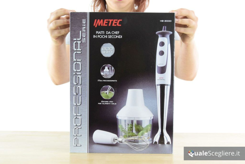 Imetec Professional Serie HB 2000 confezione