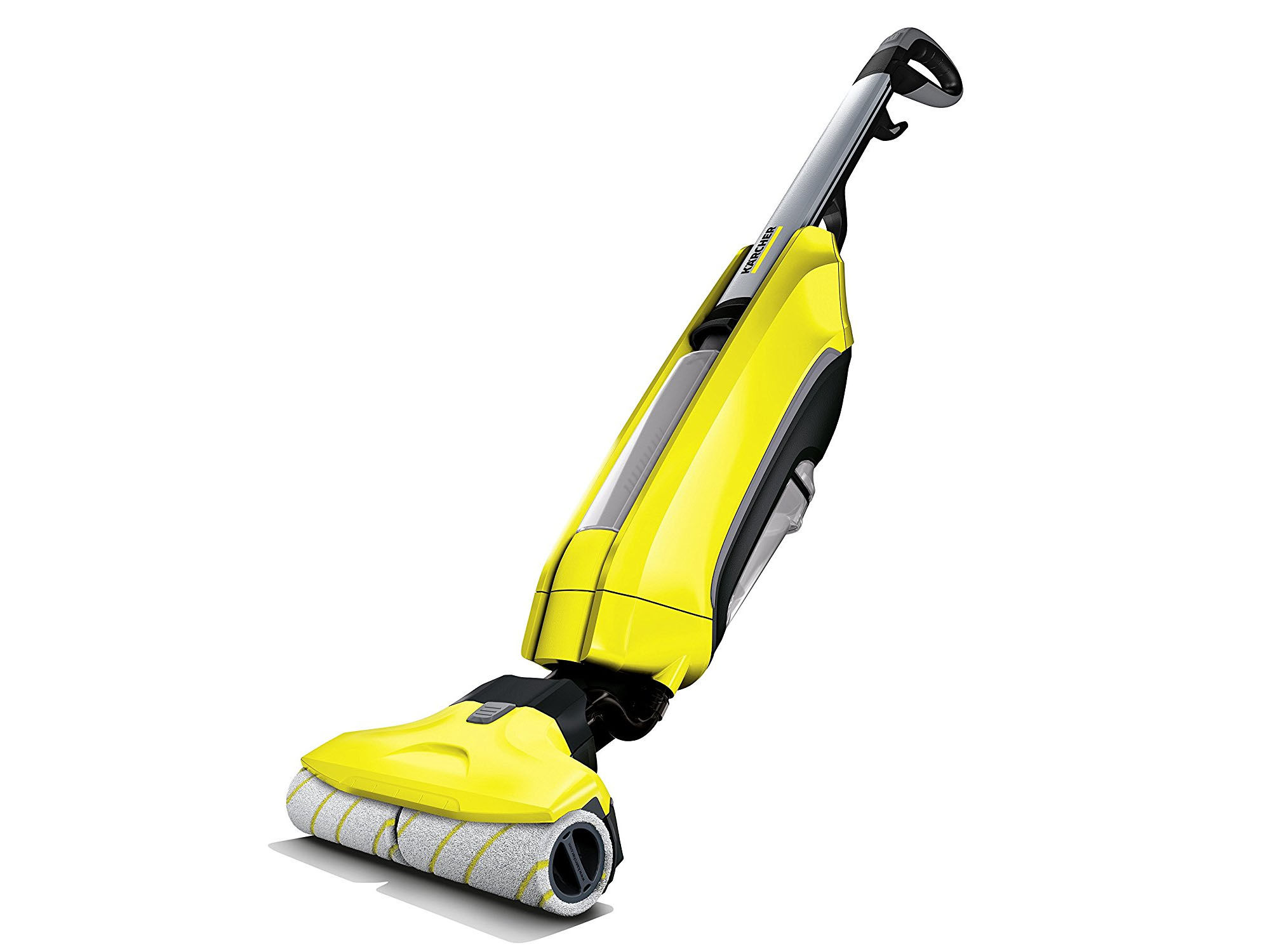 Scope elettriche KARCHER Giallo VC 5 Cordless Nero