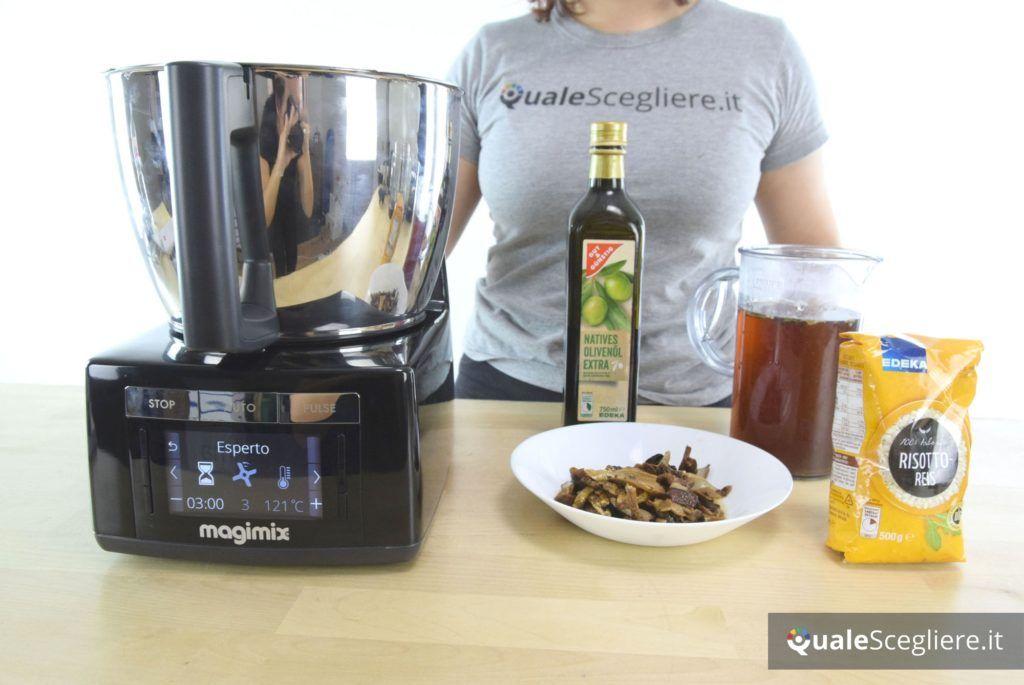 Magimix Cook Expert preparazione risotto ai funghi