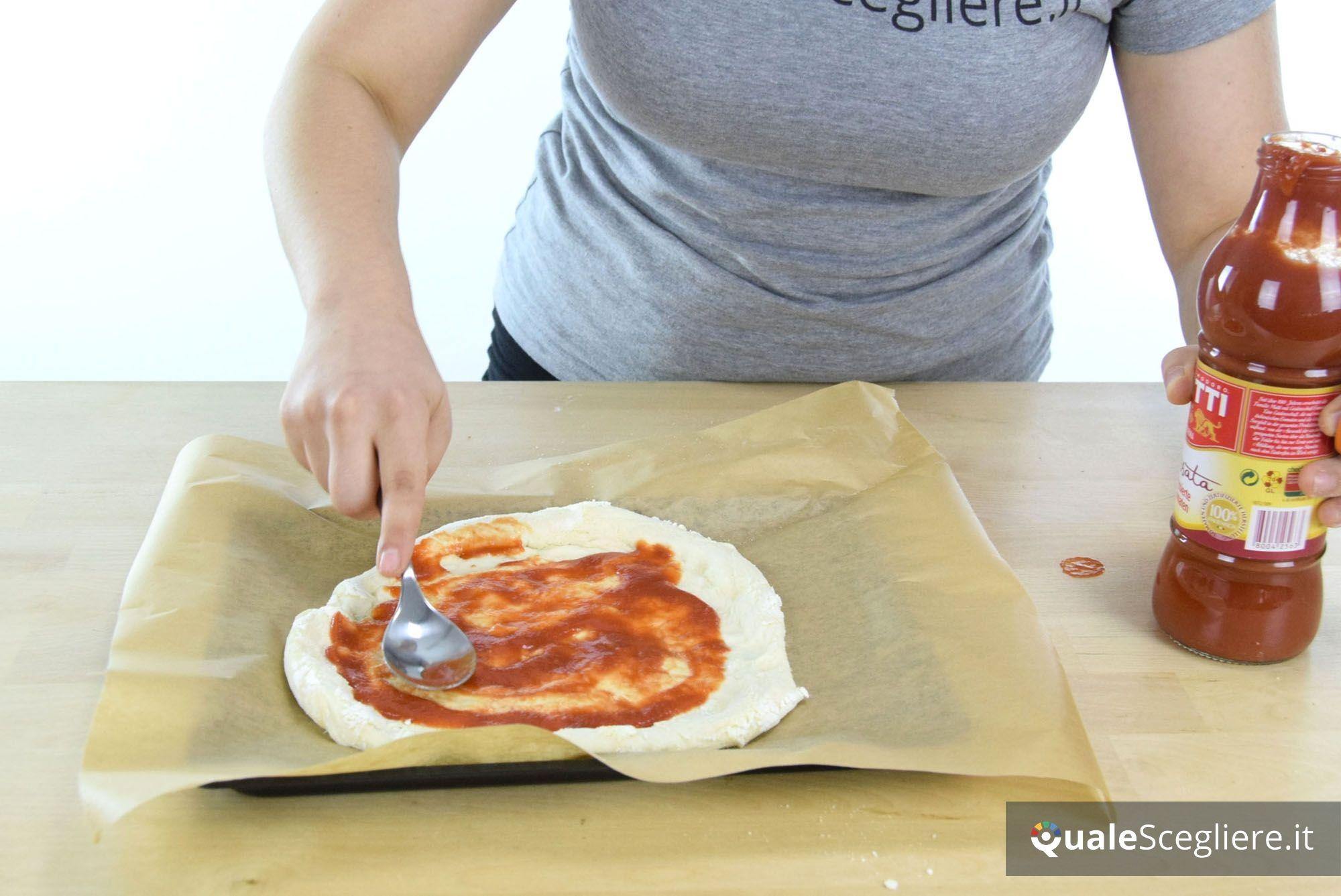 Moulinex Optimo 19L OX4448 preparazione pizza