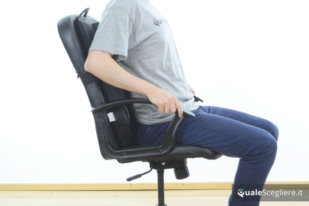 Naipo MGM-181 seduta massaggiante