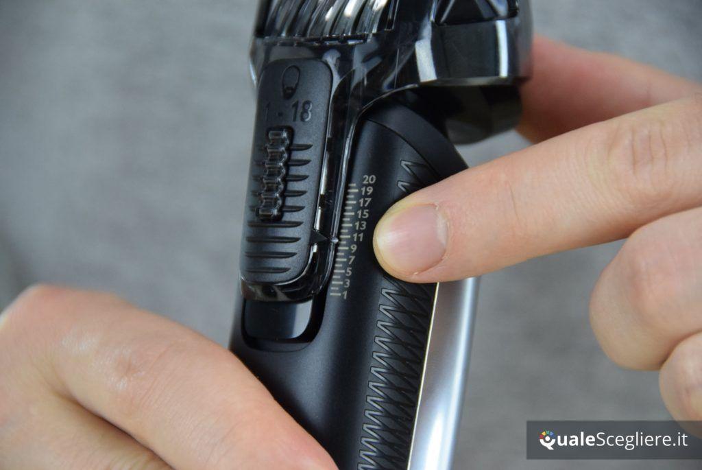 Philips Series 7000 Pro QG3398/15 regolazione lunghezza