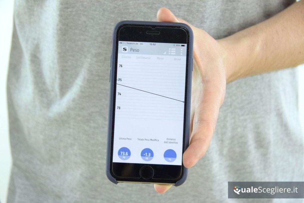 Salter 9154 3R controllo peso con app