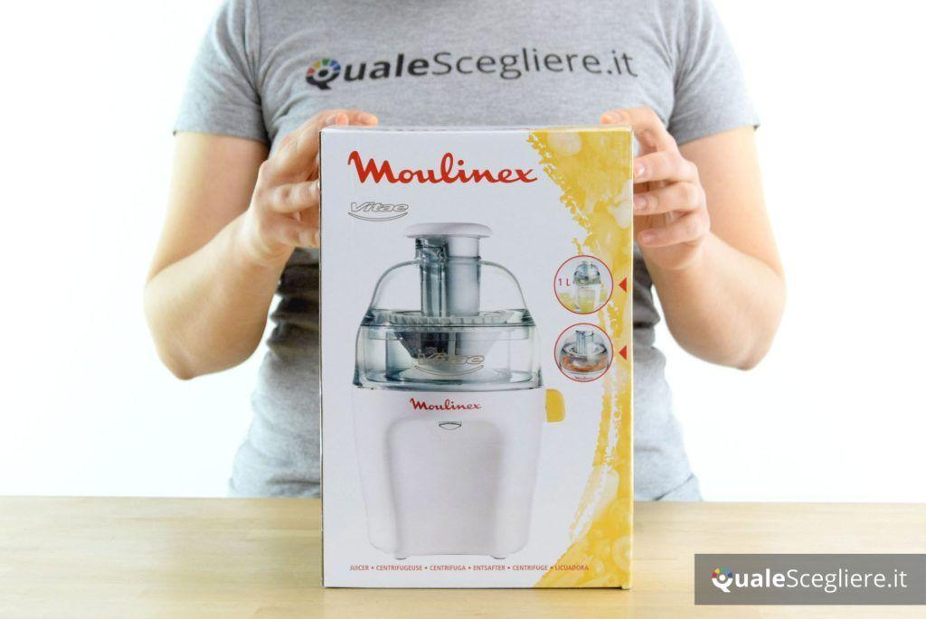 Moulinex JU2000 Vitae confezione