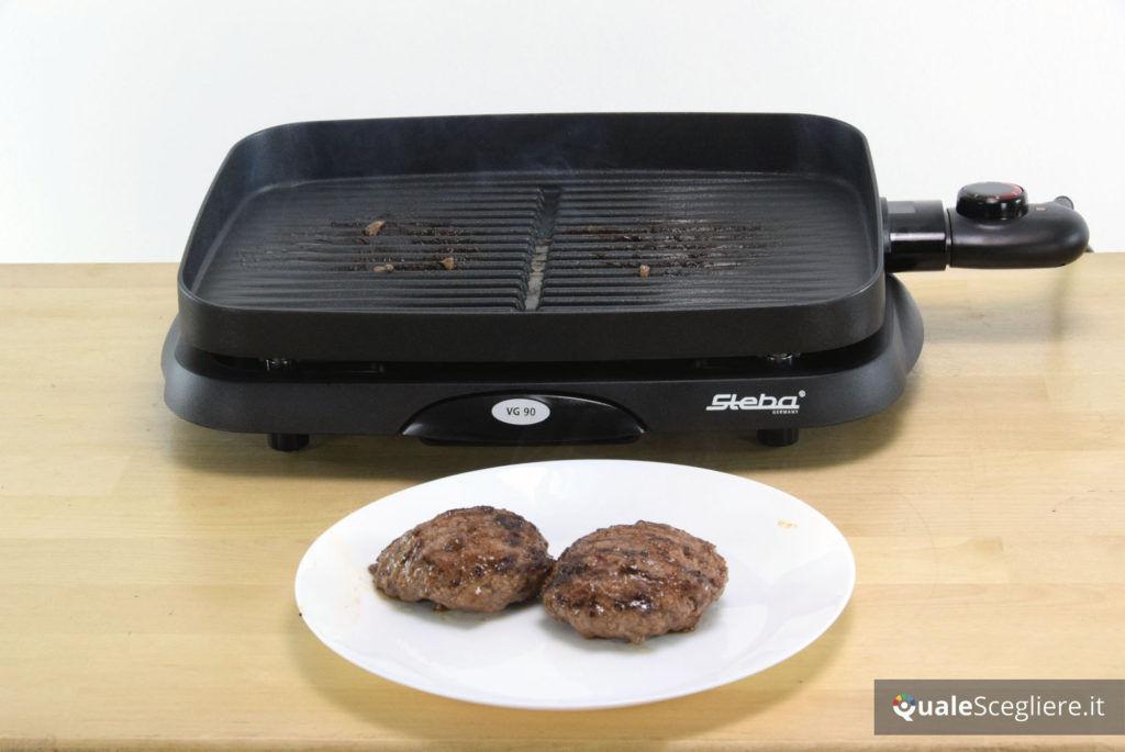 Steba VG 90 hamburger ottenuti