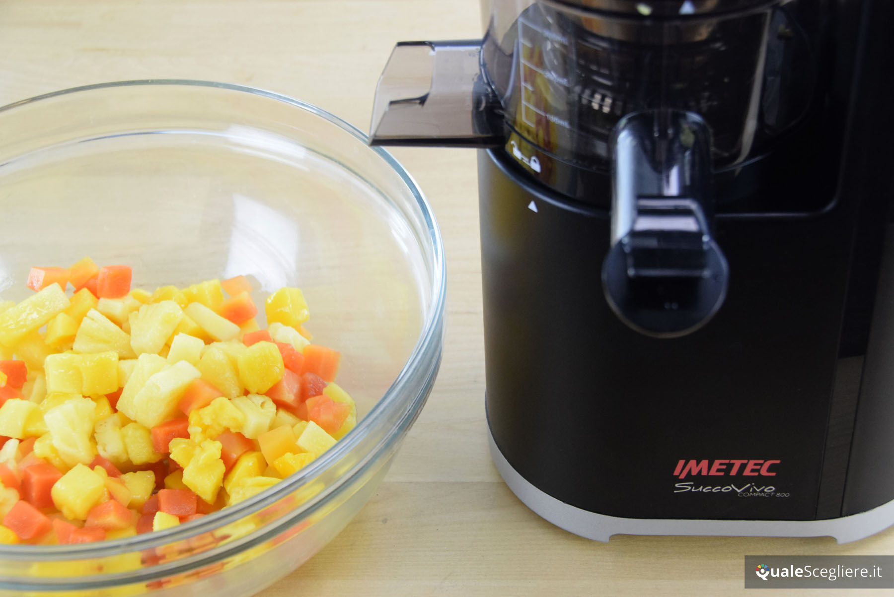 Come fare i sorbetti con l 39 estrattore di succo in 4 for Imetec sj 800