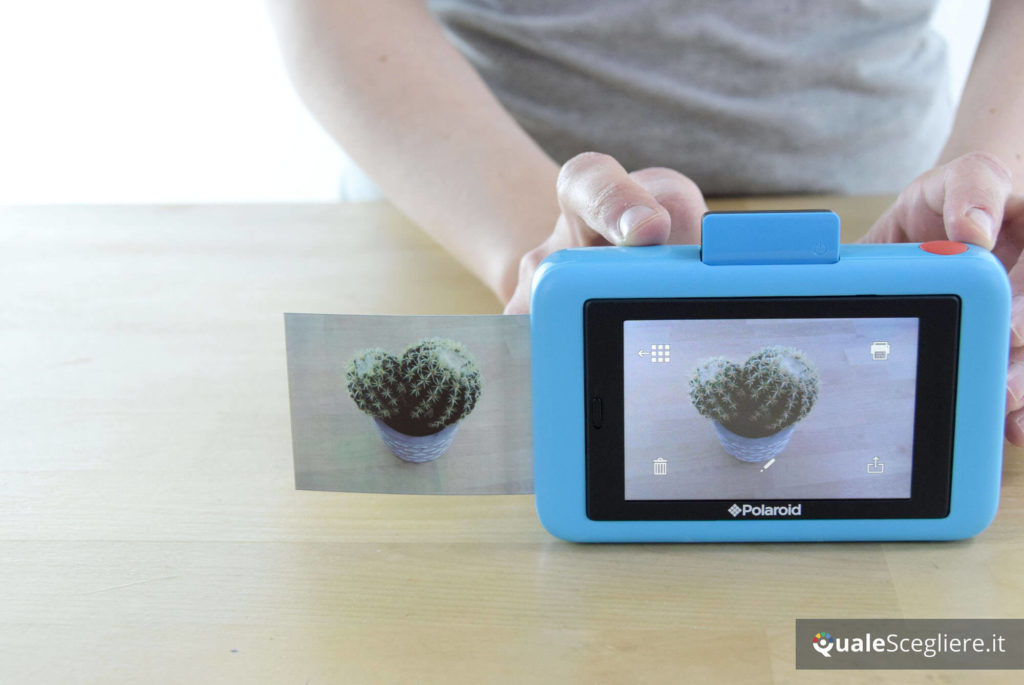 Polaroid Snap Touch stampa