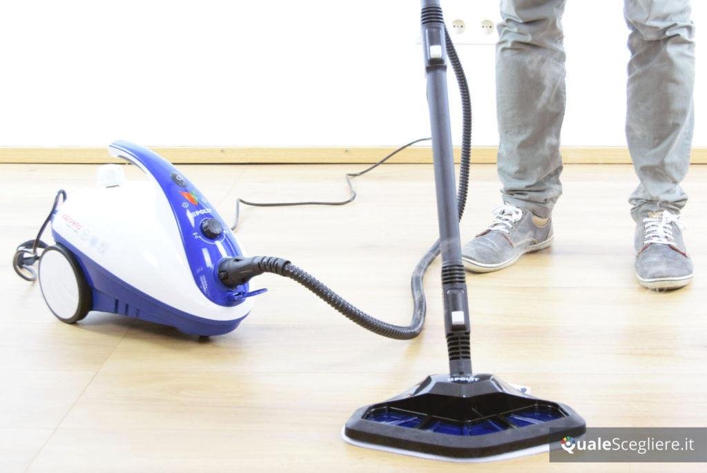 Polti Vaporetto Smart 40_Mop pulizia parquet