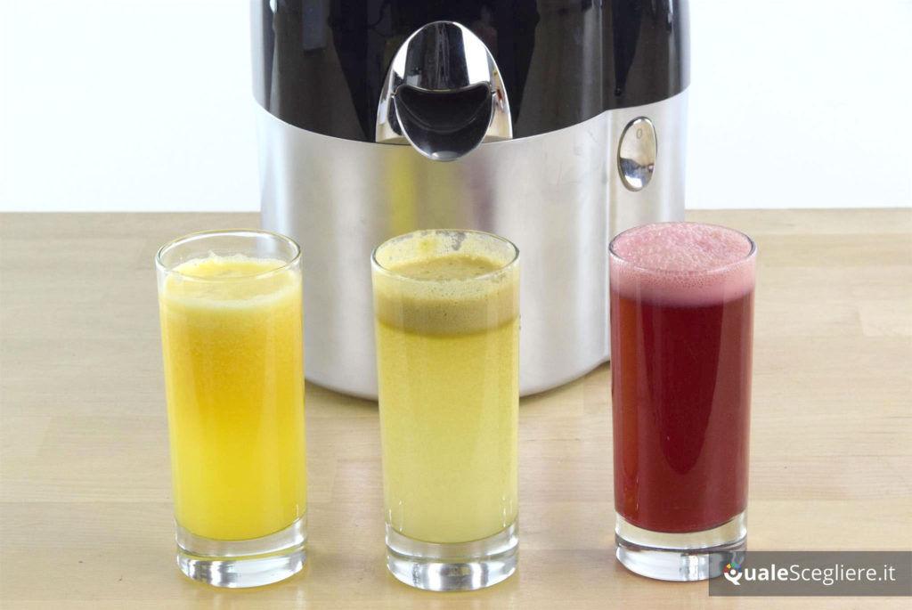 Magimix Juice Expert 3 succhi ottenuti