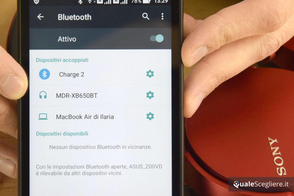 Sony MDR-XB650BT Bluetooth
