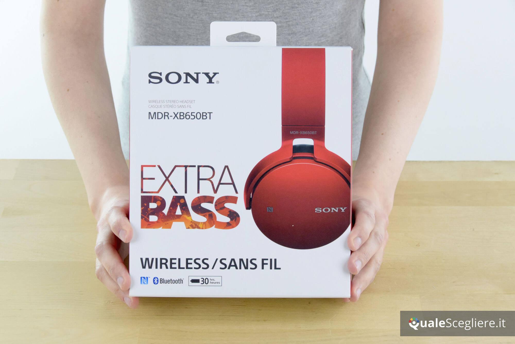 ▷ Recensione Sony MDR-XB650BT  acfd9b95273c