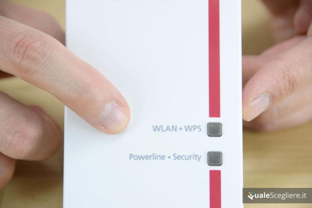 AVM Fritz!Powerline 540E Wlan Set WPS