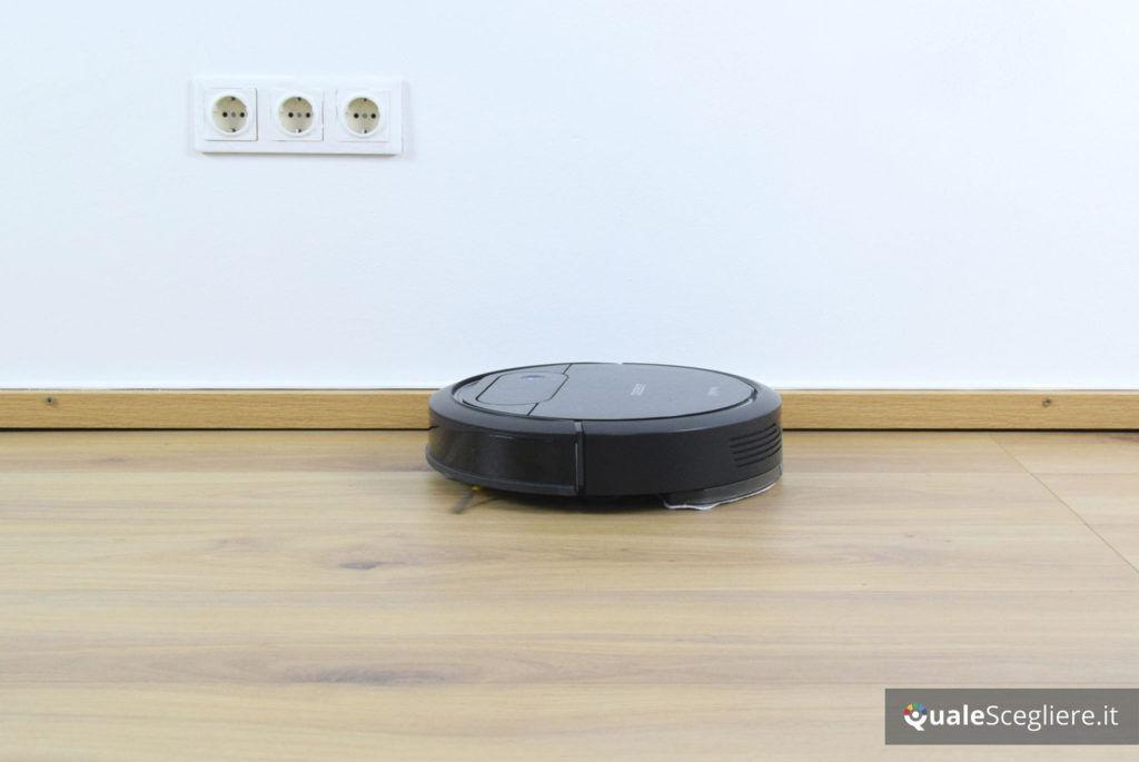 Ecovacs Robotics Deebot N78D prova pratica battiscopa