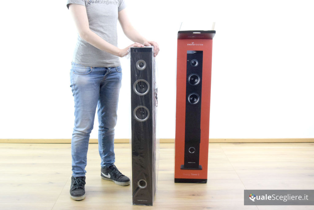 Energy Sistem Energy Tower 3 G2 unboxing