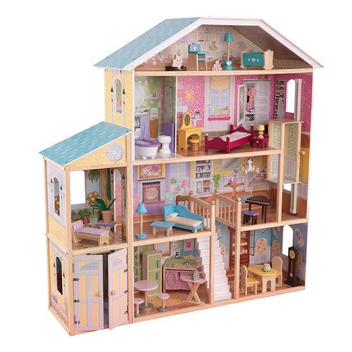 casa di barbie fatta a mano
