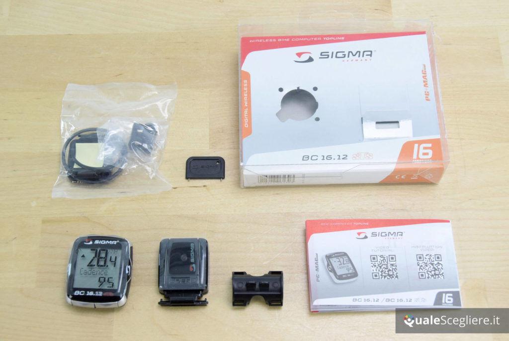 Sigma BC 16-12 STS accessori