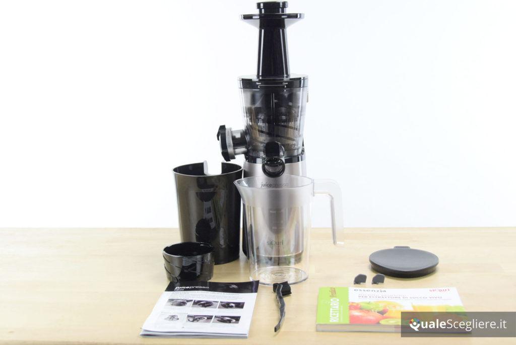 Siquri Juicepresso CJP-05 componenti