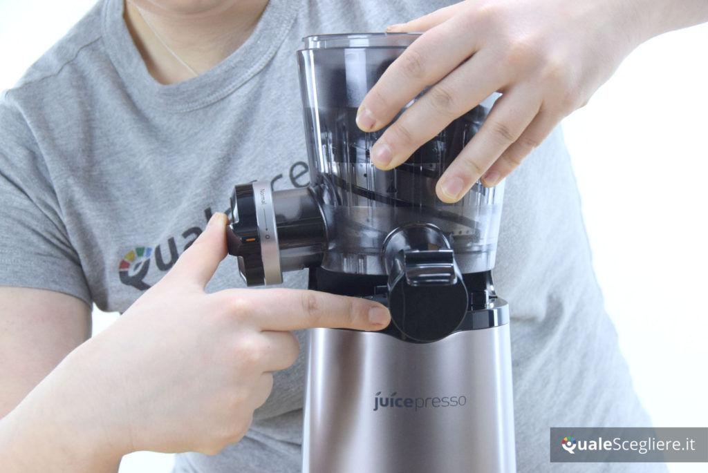 Siquri Juicepresso CJP-05 montaggio componenti